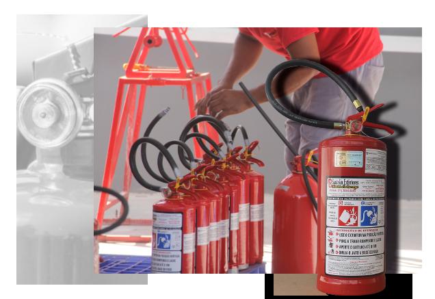 A SANTOLIN EXTINTORES Ltda., empresa especializada em comercialização, manutenção e recarga de extintores e com atuação na Região Metropolitana de Salvador.